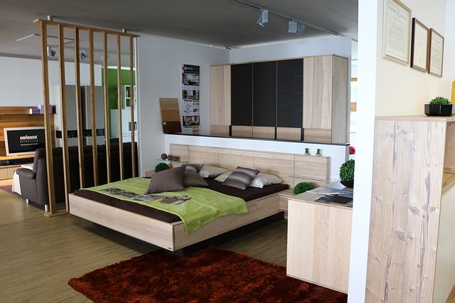 byt, ložnice, postel