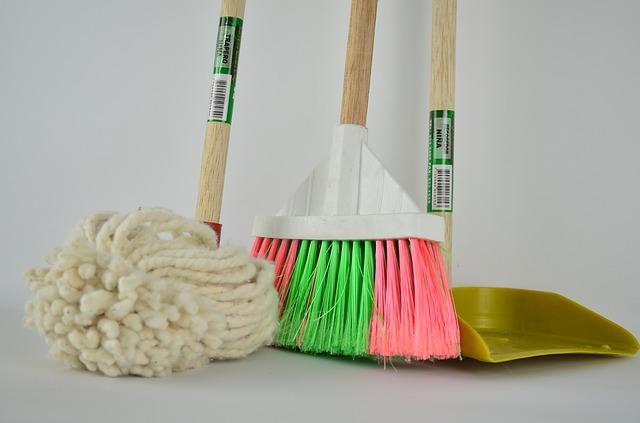 smeták a mop