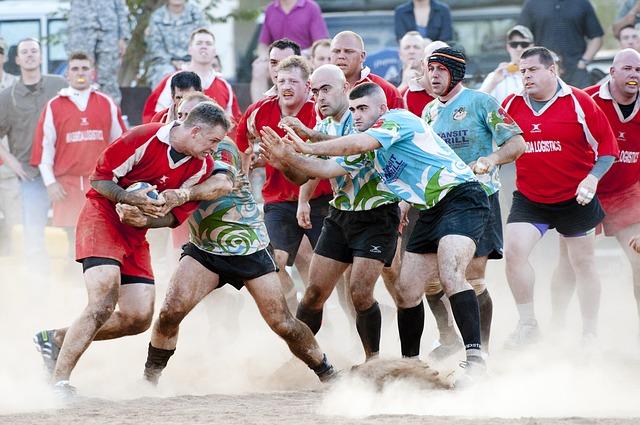 rugbyový zápas
