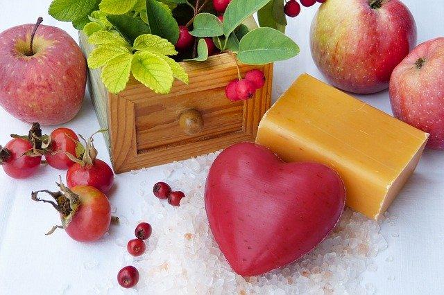 ovocné mýdla