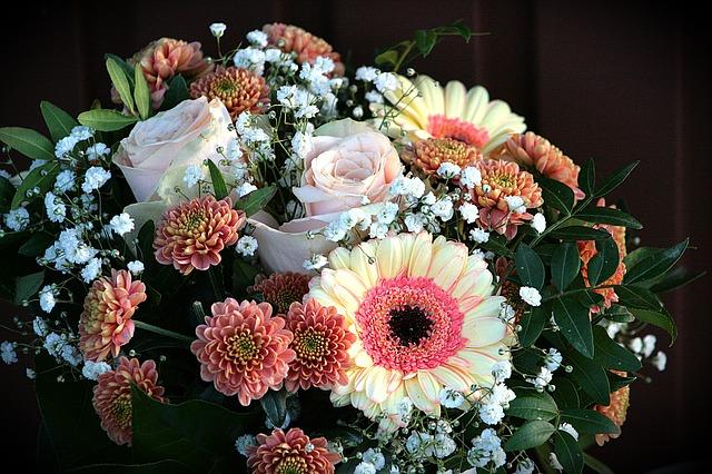 variace květin