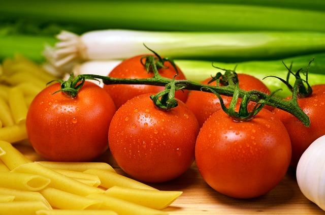 umytá rajčátka