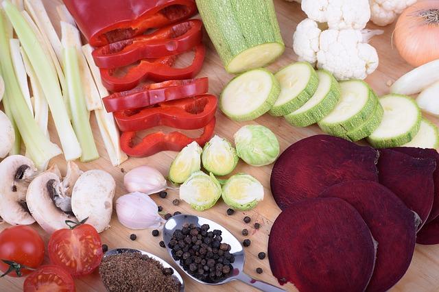 zelenina a koření