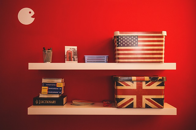 americké krabice